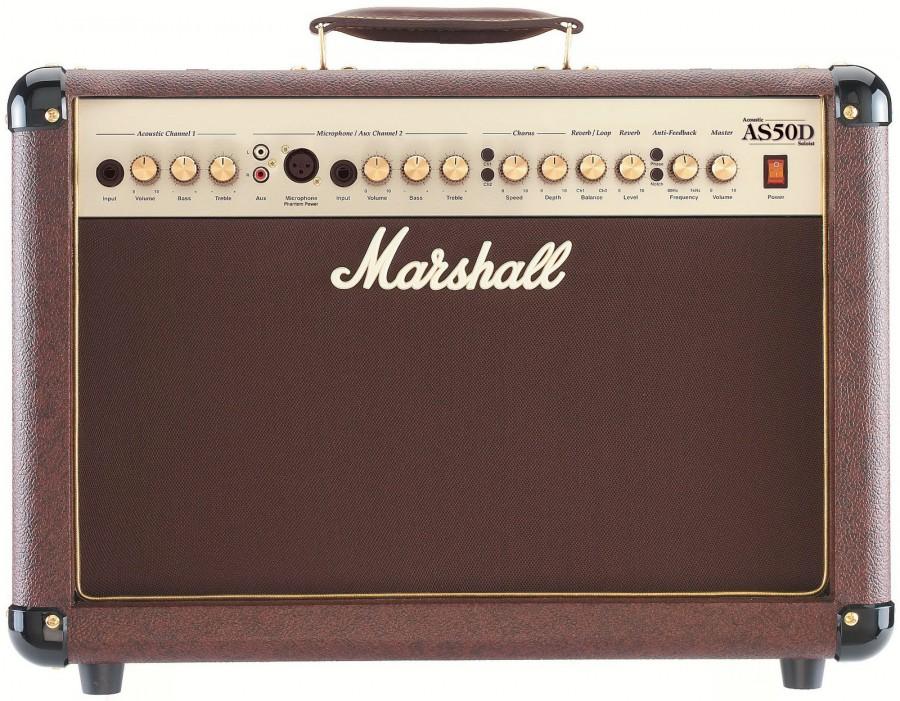 [:ru]Комбоусилитель для акустических гитар Marshall-AS50D [:]